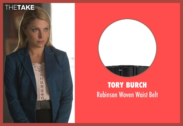 Tory Burch black belt from The Vampire Diaries seen with Mary Louise (Teressa Liane)