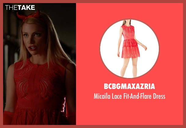 BCBGMAXAZRIA red dress from The Vampire Diaries seen with Mary Louise (Teressa Liane)