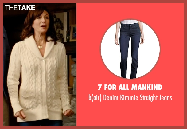 7 For All Mankind blue jeans from The Proposal seen with Mary Steenburgen (Grace Paxton)