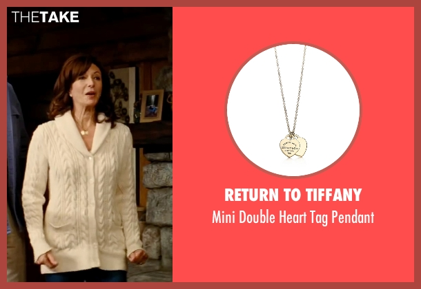 Return To Tiffany pendant from The Proposal seen with Mary Steenburgen (Grace Paxton)