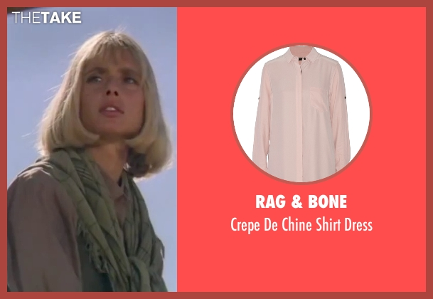 Rag & Bone pink dress from The Living Daylights seen with Maryam d'Abo (Kara Milovy)