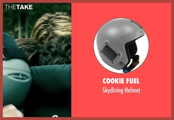 Cookie Fuel helmet from Point Break seen with Matias Varela (Grommet)