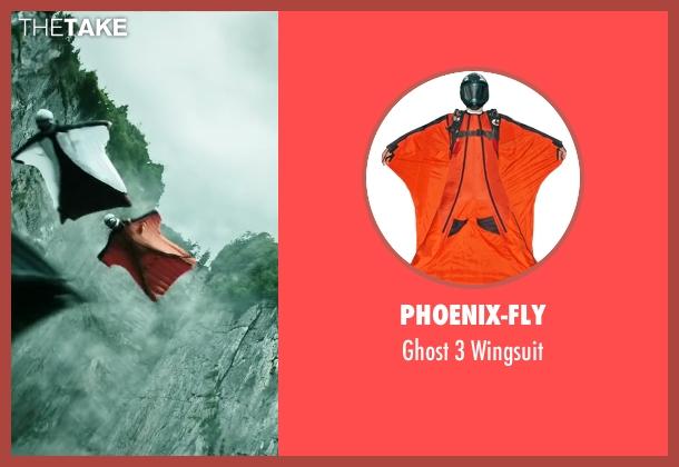 Phoenix-Fly wingsuit from Point Break seen with Matias Varela (Grommet)