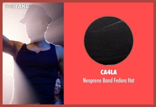 Ca4la black hat from Magic Mike XXL seen with Matt Bomer (Ken)