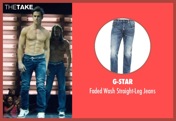 G-Star blue jeans from Magic Mike XXL seen with Matt Bomer (Ken)