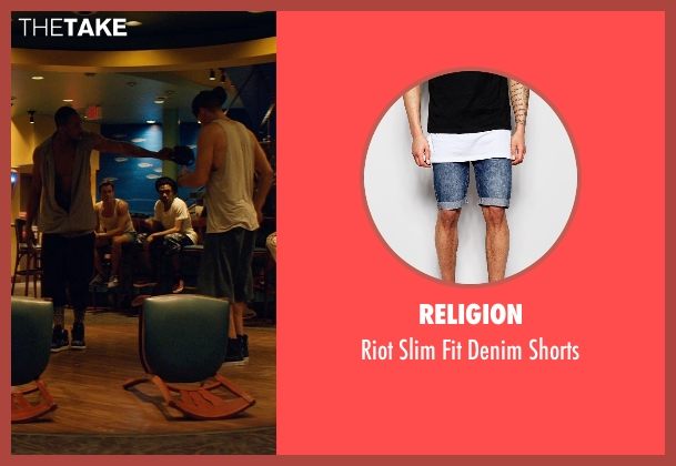 Religion blue shorts from Magic Mike XXL seen with Matt Bomer (Ken)