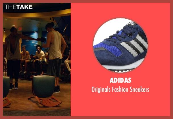 Adidas blue sneakers from Magic Mike XXL seen with Matt Bomer (Ken)