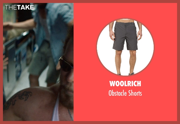 Woolrich gray shorts from Magic Mike XXL seen with Matt Bomer (Ken)