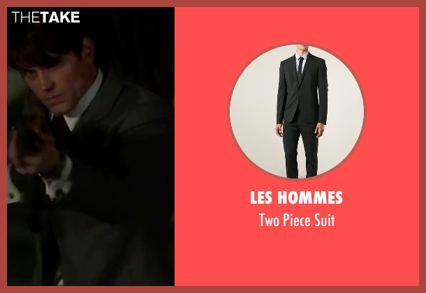 Les Hommes black suit from The Nice Guys seen with Matt Bomer (Unknown Character)