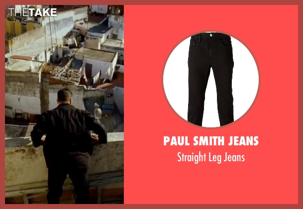 Paul Smith Jeans black jeans from The Bourne Ultimatum seen with Matt Damon (Jason Bourne)