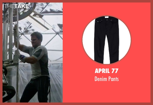 April 77 black pants from The Martian seen with Matt Damon (Mark Watney)