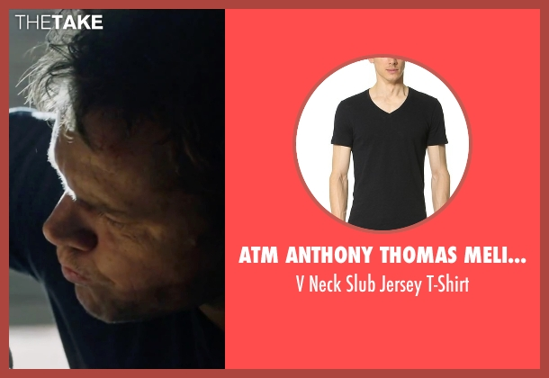 ATM Anthony Thomas Melillo black t-shirt from The Martian seen with Matt Damon (Mark Watney)