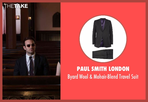 Paul Smith London black suit from Daredevil seen with Matt Murdock / Daredevil (Charlie Cox)