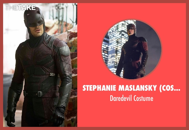 Stephanie Maslansky (Costume Designer) costume from Daredevil seen with Matt Murdock / Daredevil (Charlie Cox)