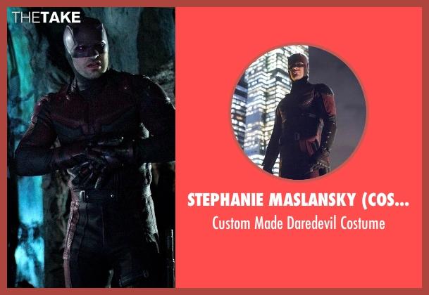 Stephanie Maslansky (Costume Designer) costume from Marvel's The Defenders seen with Matt Murdock / Daredevil (Charlie Cox)