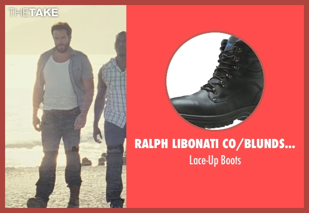 Ralph Libonati Co/Blundstone M black boots from Fast Five seen with Matt Schulze (Vince)