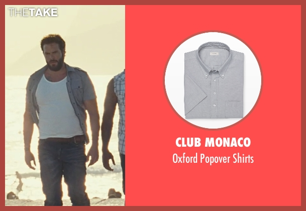 Club Monaco gray shirts from Fast Five seen with Matt Schulze (Vince)