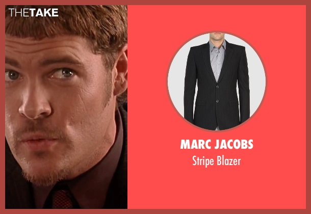 Marc Jacobs black blazer from The Transporter seen with Matt Schulze (Wall Street)