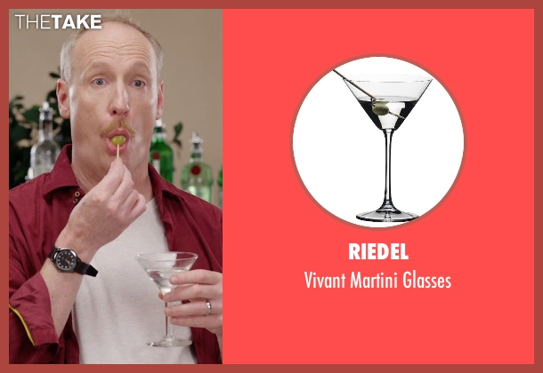 Riedel glasses from Get Hard seen with Matt Walsh (Unknown Character)