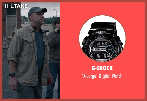 G-Shock black watch from Into the Storm seen with Matt Walsh (Pete)