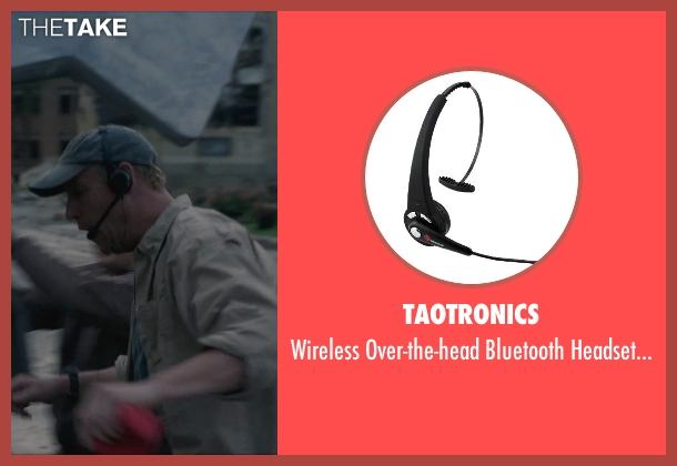 TaoTronics microphone from Into the Storm seen with Matt Walsh (Pete)