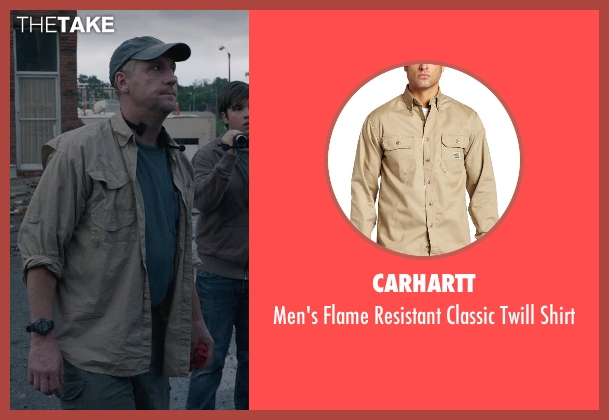 Carhartt shirt from Into the Storm seen with Matt Walsh (Pete)