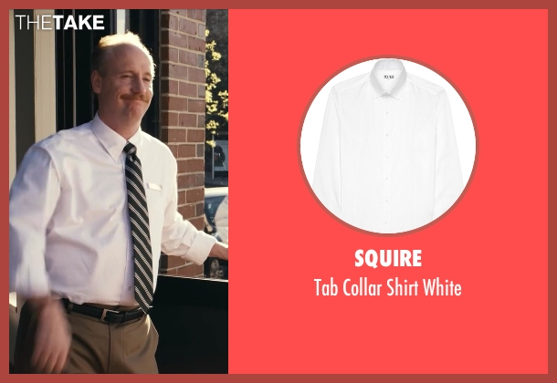 Squire white white from Ted seen with Matt Walsh (Thomas)