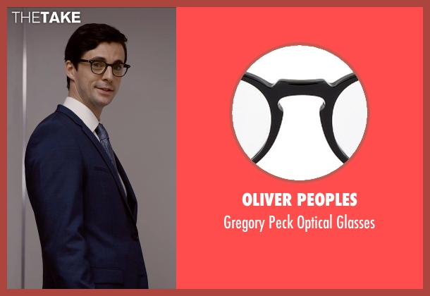 Oliver Peoples glasses from Self/Less seen with Matthew Goode (Albright)