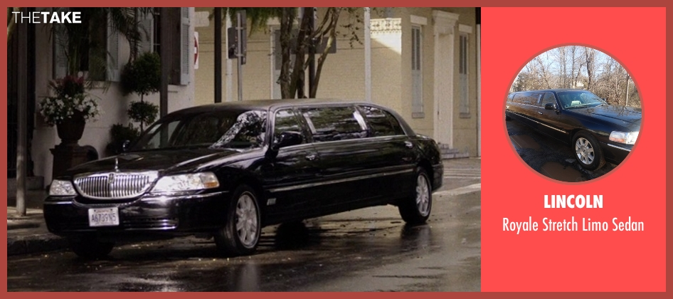 Lincoln sedan from Self/Less seen with Matthew Goode (Albright)