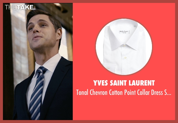 Yves Saint Laurent white shirt from Self/Less seen with Matthew Goode (Albright)