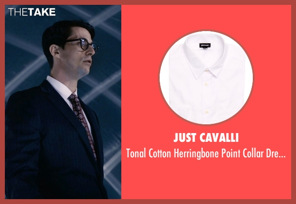 Just Cavalli white shirt from Self/Less seen with Matthew Goode (Albright)