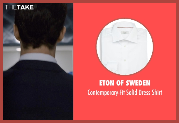 Eton of Sweden white shirt from Self/Less seen with Matthew Goode (Albright)