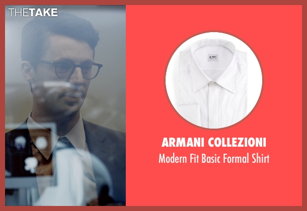 Armani Collezioni white shirt from Self/Less seen with Matthew Goode (Albright)