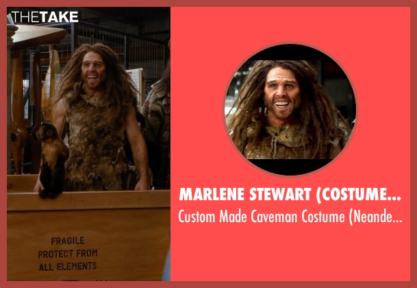 Marlene Stewart (Costume Designer) costume from Night at the Museum: Secret of the Tomb seen with Matthew Harrison (Neanderthal)
