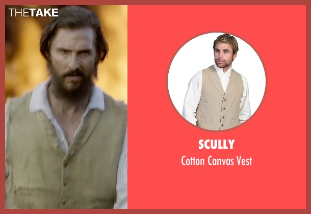 Scully beige vest from Free State of Jones seen with Matthew McConaughey (Newton Knight)