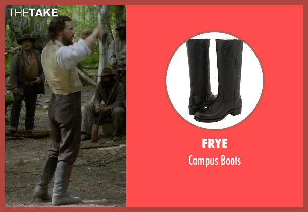 Frye black boots from Free State of Jones seen with Matthew McConaughey (Newton Knight)