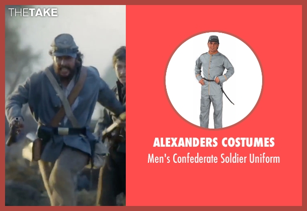 Alexanders Costumes  uniform from Free State of Jones seen with Matthew McConaughey (Newton Knight)