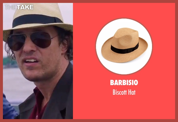 Barbisio beige hat from Gold seen with Matthew McConaughey (Kenny Wells)