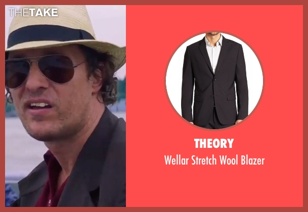 Theory  black blazer from Gold seen with Matthew McConaughey (Kenny Wells)