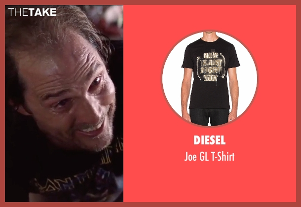 Diesel black t-shirt from Gold seen with Matthew McConaughey (Kenny Wells)