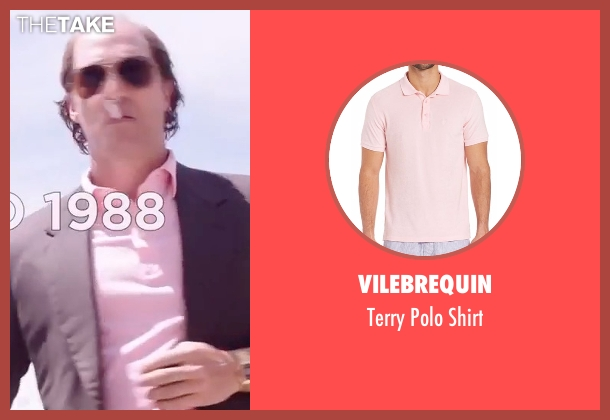 Vilebrequin pink shirt from Gold seen with Matthew McConaughey (Kenny Wells)