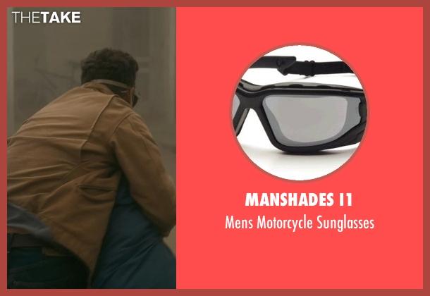 ManShades I1 black sunglasses from Interstellar seen with Matthew McConaughey (Cooper)