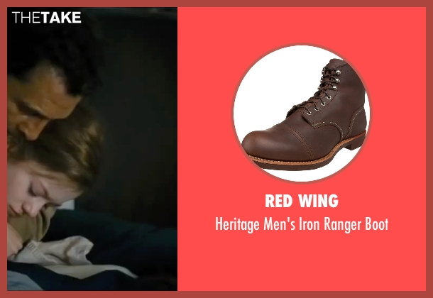 Red Wing brown boot from Interstellar seen with Matthew McConaughey (Cooper)
