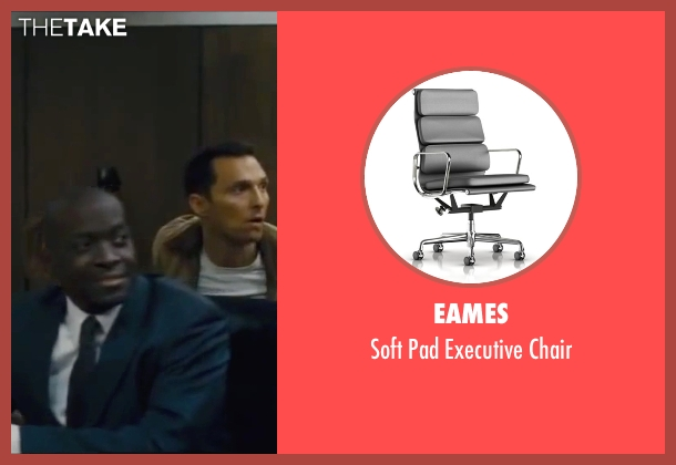 Eames chair from Interstellar seen with Matthew McConaughey (Cooper)