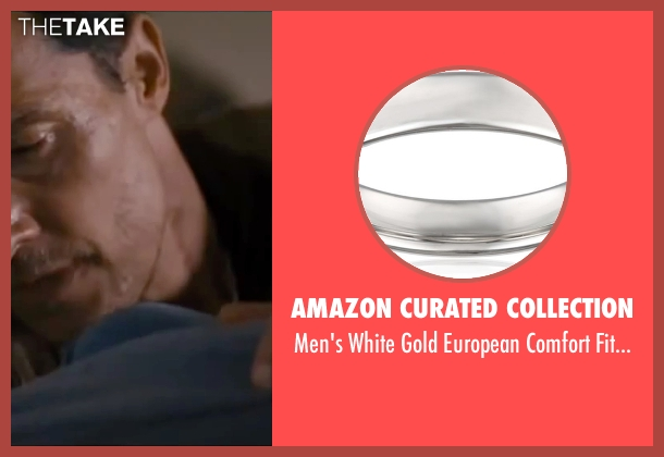 Amazon Curated Collection gold band from Interstellar seen with Matthew McConaughey (Cooper)