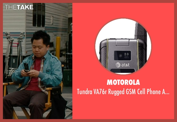 Motorola at&t from No Strings Attached seen with Matthew Moy (Chuck)