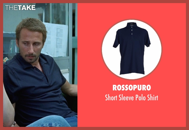Rossopuro blue shirt from A Bigger Splash seen with Matthias Schoenaerts (Paul De Smedt)
