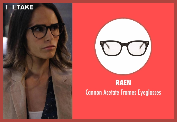 Raen black eyeglasses from Lethal Weapon seen with Maureen Cahill (Jordana Brewster)