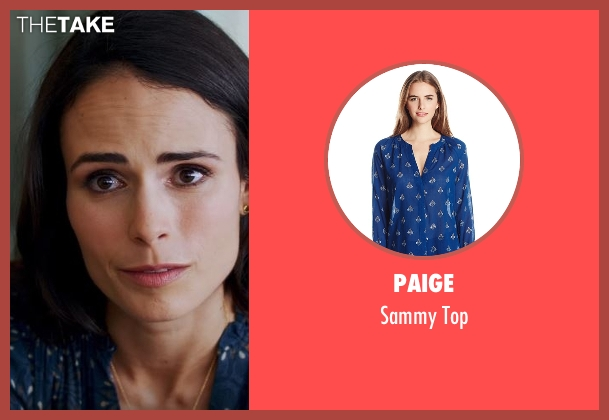 Paige blue top from Lethal Weapon seen with Maureen Cahill (Jordana Brewster)
