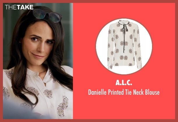A.L.C. white blouse from Lethal Weapon seen with Maureen Cahill (Jordana Brewster)